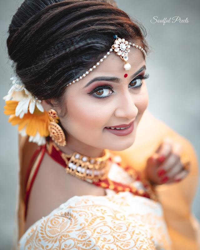 Modern Assamese Bride