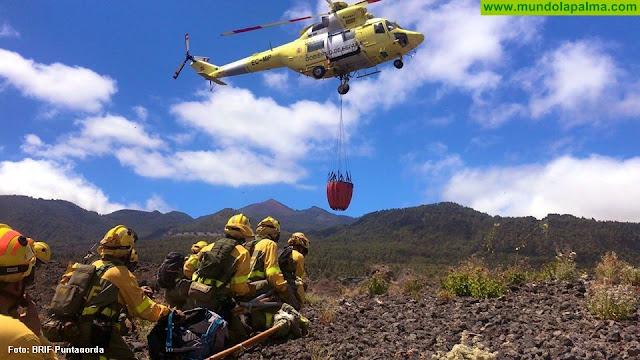 Los helicópteros de la BRIF realizan prácticas en Mazo y El Paso