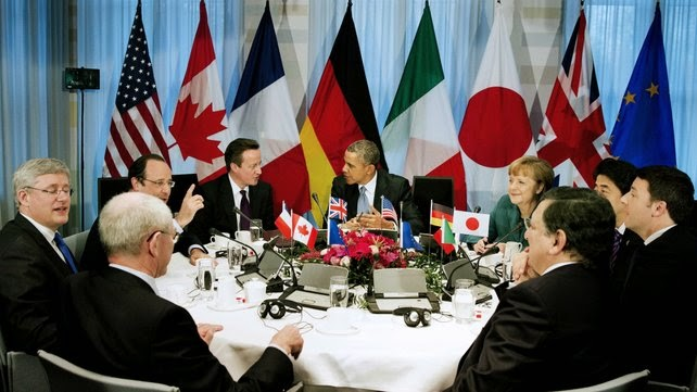G7 Threatens More Sanctions on Russia Over Ukraine Crisis
