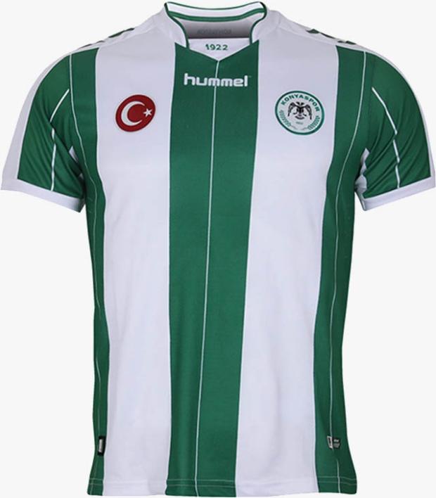 abae6d063d Hummel divulga as novas camisas do Konyaspor. A Hummel apresentou os novos  uniformes ...