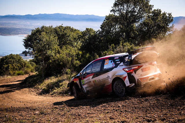 Toyota World Rally Car