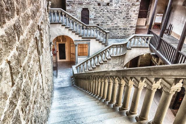 La torre del castello di Poppi