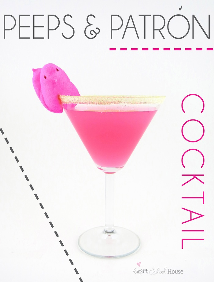 Peeps & Patron Cocktail