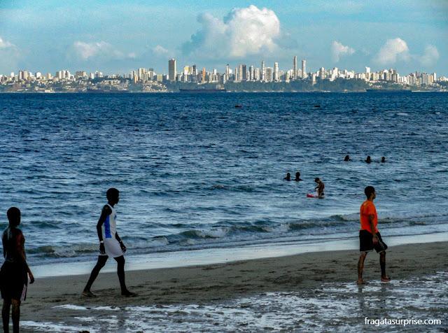 Ilha de Itaparica, Bahia, Praia de Gameleira