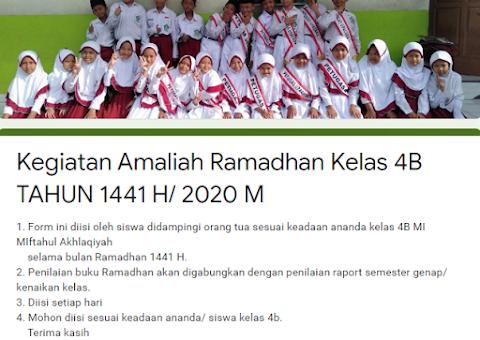 Akhlaqiyah Pantau Kegiatan Amaliyah Siswa Selama Ramadhan
