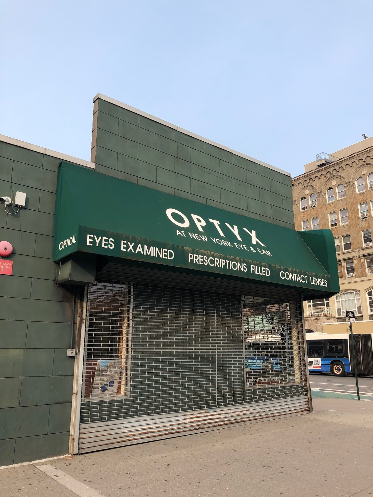 EV Grieve: Optyx has closed at the New York Eye and Ear