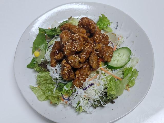 Sweet & Sour Pork Salad