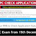 Check RRB NTPC Application Status and Exam date announced