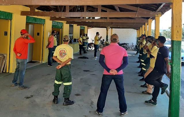 IBAMA/Prevfogo implanta brigada para prevenção e combate aos incêndios florestais