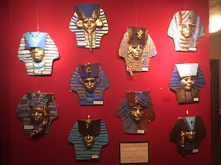 "Freshwater School's ""Egyptian Mask Project"""