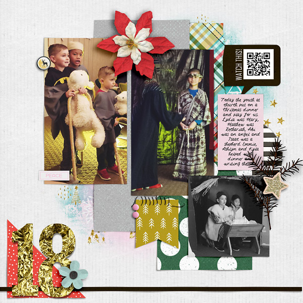 Digital Scrapbook DYD Day 18
