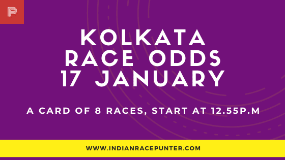 Kolkata Race Odds 17 January