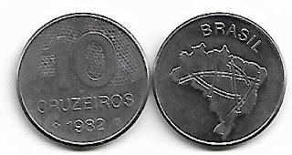 10 Cruzeiros, 1982