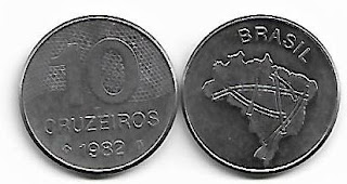 Moeda de 10 Cruzeiros, 1982