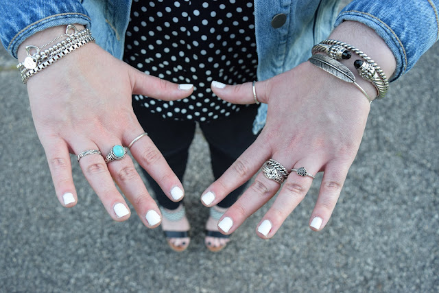 Sequins and Skulls: Spots & Watermelons