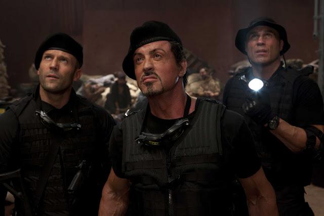 """Sylvester Stallone começou a trabalhar em """"Os Mercenários 4"""""""