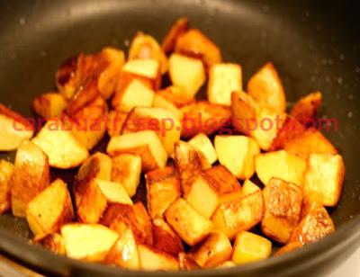 Foto Resep Ketang Panggang Teflon (Pan Roasted Potatoes) Sederhana Spesial Asli Enak