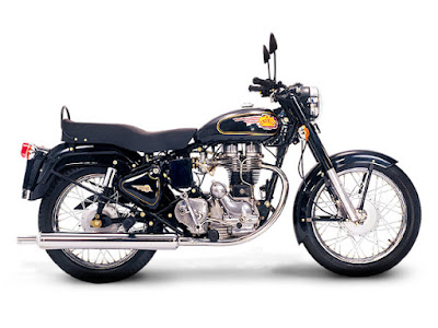 Royal Enfield Bullet 350 side view