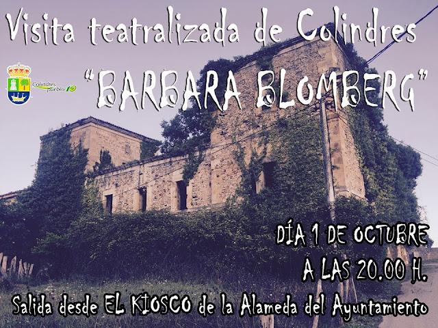 "Visita teatralizada de Colindres ""Barbara Blomberg"""