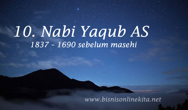 nabi yaqub as nama nama nabi
