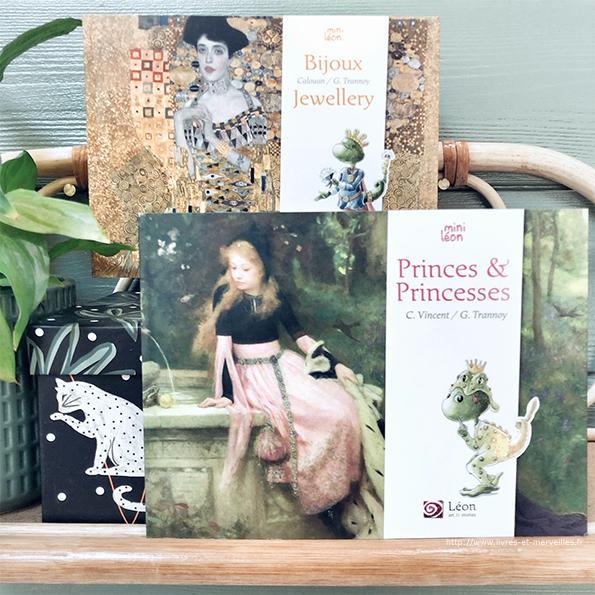Les 2 nouveaux mini Léon : Bijoux, Princes & Princesses