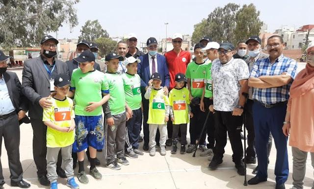 اختتام فعاليات المهرجان الجهوي الأول للألعاب الرياضية الخاص بالمراكز الرياضية بالأكاديمية الجهوية للتربية والتكوين لجهة سوس ماسة.