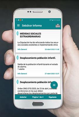 Sebúlcor Informa, la app del Ayuntamiento