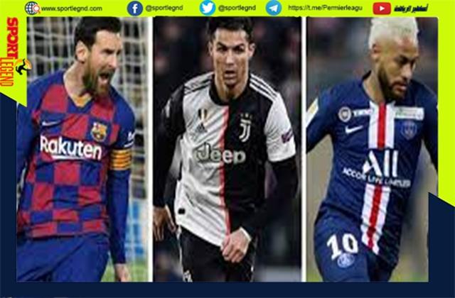 قائمة اعلى 10 لاعبين دخلاً في العالم عام 2021.. كريستيانو رونالدو في الصدارة