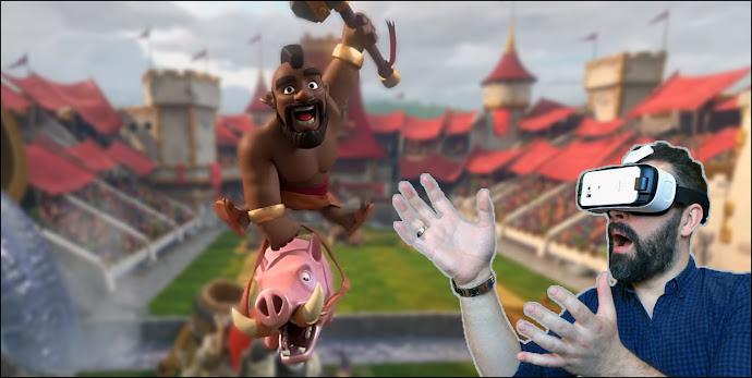 Virtual Reality Clash Royale 360°