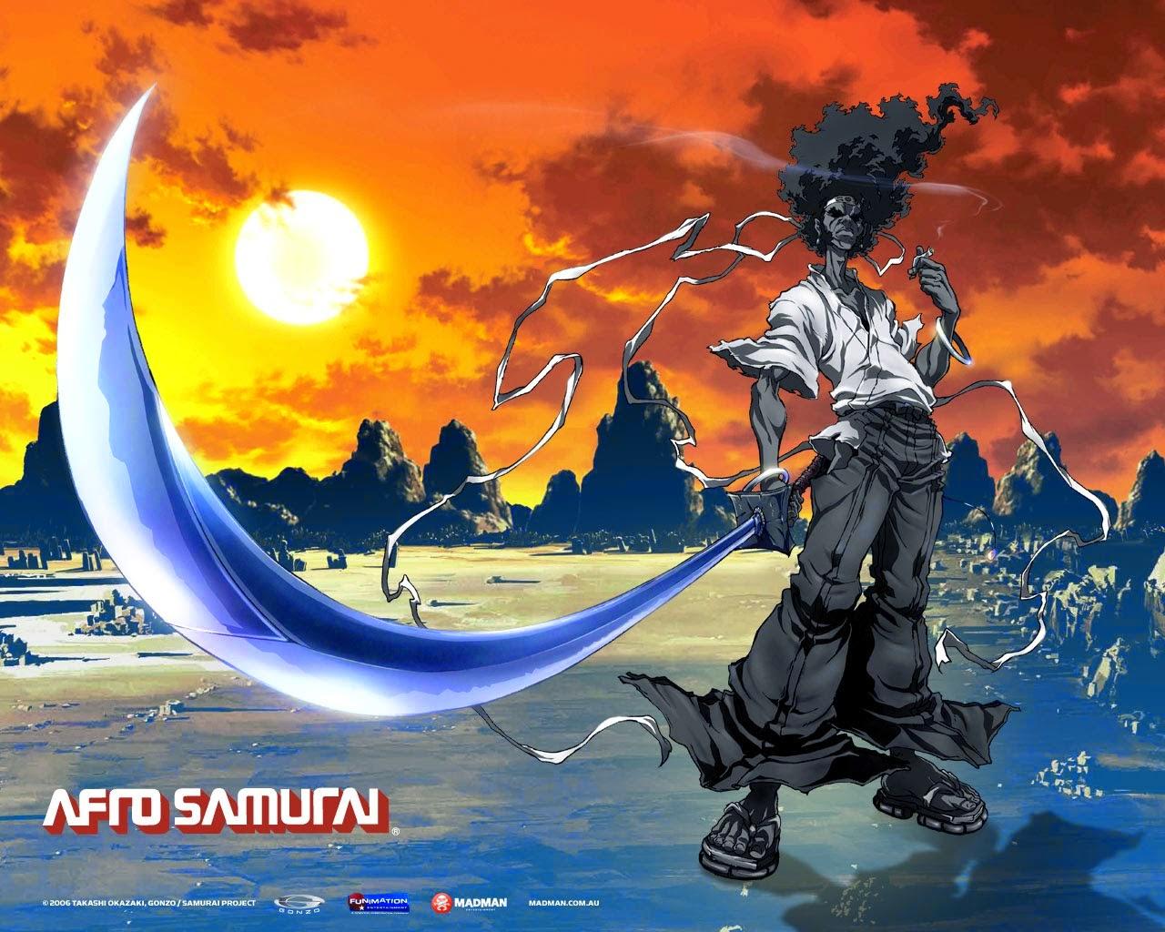 anime para todos: Afro Samurai アフロサムライ the movie