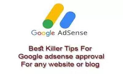 Best Tips For Google adsense approval - Blogger SEO