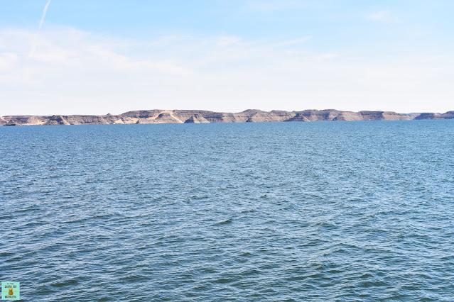 Lago Nasser en Egipto