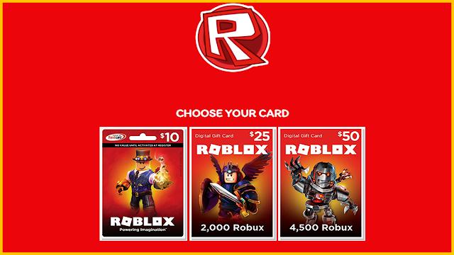 Free Roblox Gift Card Generator 2021