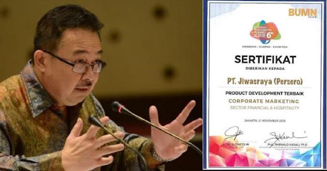 TERUNGKAP! Rhenald Kasali Ternyata Ketua Dewan Juri Pemberi Penghargaan Jiwasraya 2018