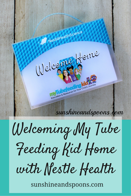 Welcoming My Tube Feeding Kid Home with Nestle Health