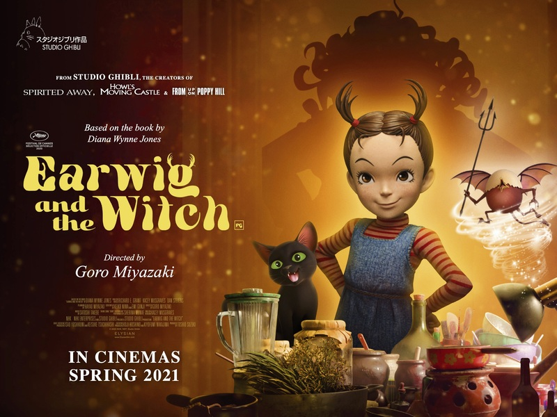 earwig and the witch poster