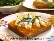 Karotková nátierka so zelerovými hranolkami - recept