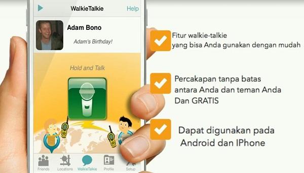 Aplikasi iSharing Untuk Lacak No Hp 5