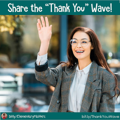 "Share the ""Thank You"" Wave! A simple act of kindness is the best example you can give children!"
