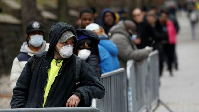 Estados Unidos superó el millón de casos de coronavirus