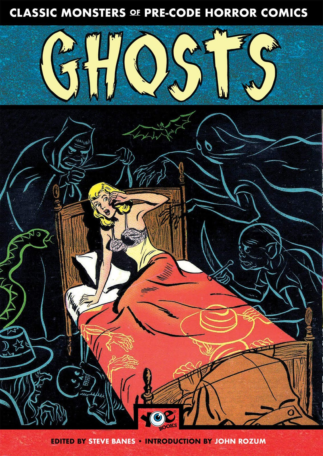 GHOSTS: Classic Monsters of Pre-Code Horror Comics Paperback (Edited by Steve Banes)