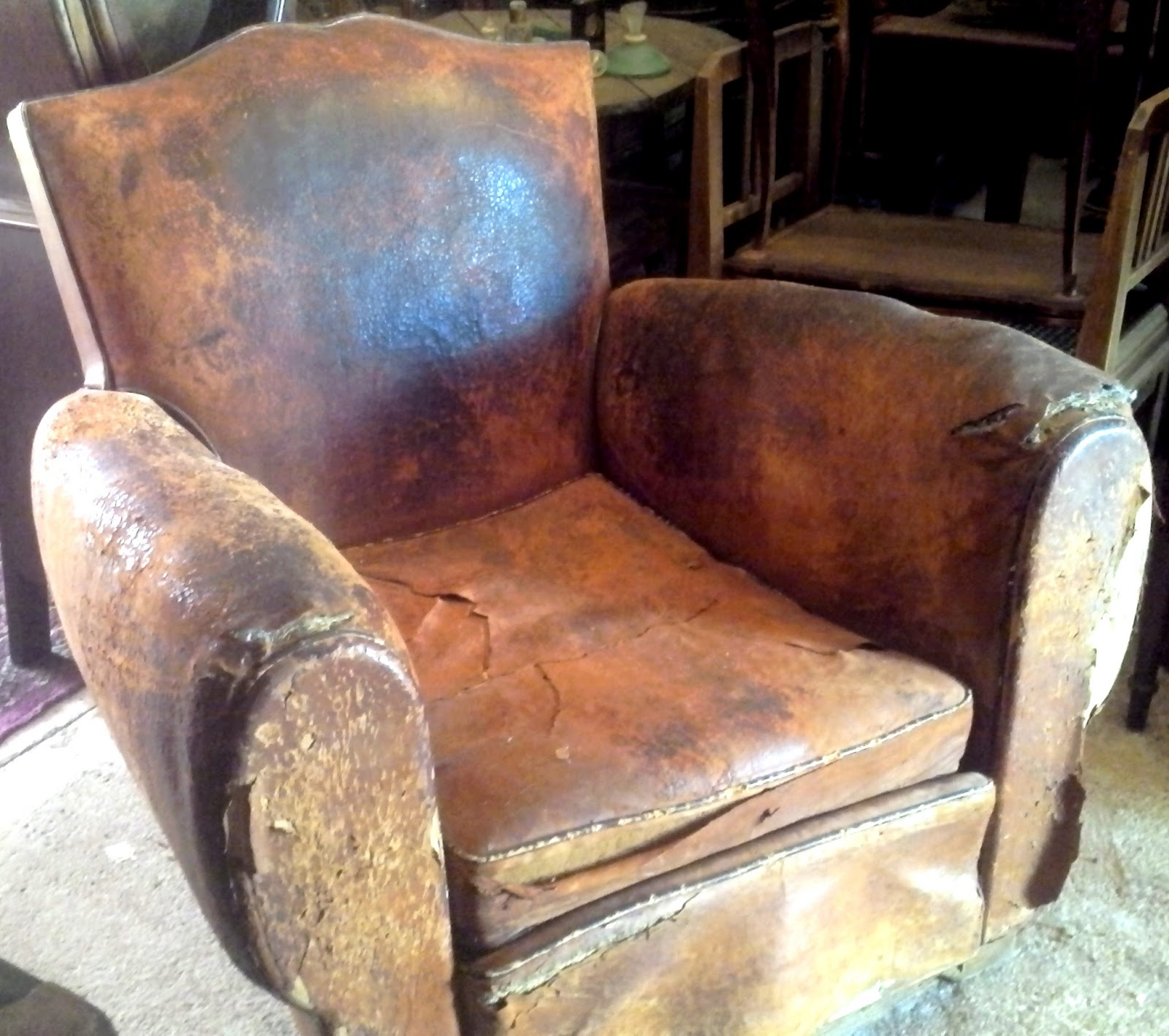 Fauteuils Clubs Anciens Didoulabrocante Fr Ancien Fauteuil Club Dossier