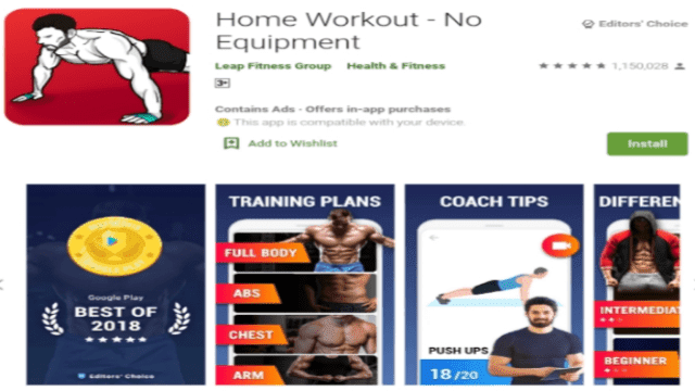 The Best Workout Application on Android 2020
