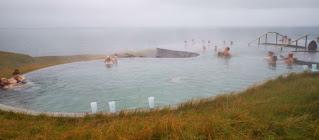 Baños termales Geosea, Húsavík, Islandia, Iceland.