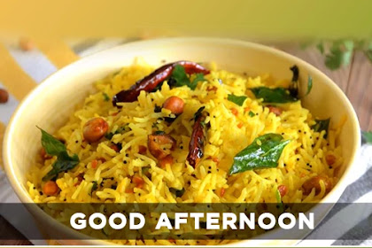 [Full Hd Images] Good Afternoon Images With Indian Lunch Free