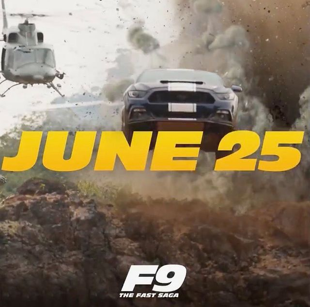 John Cena ignites his fans with a poster for Fast & Furious 9, ahead of its release in June