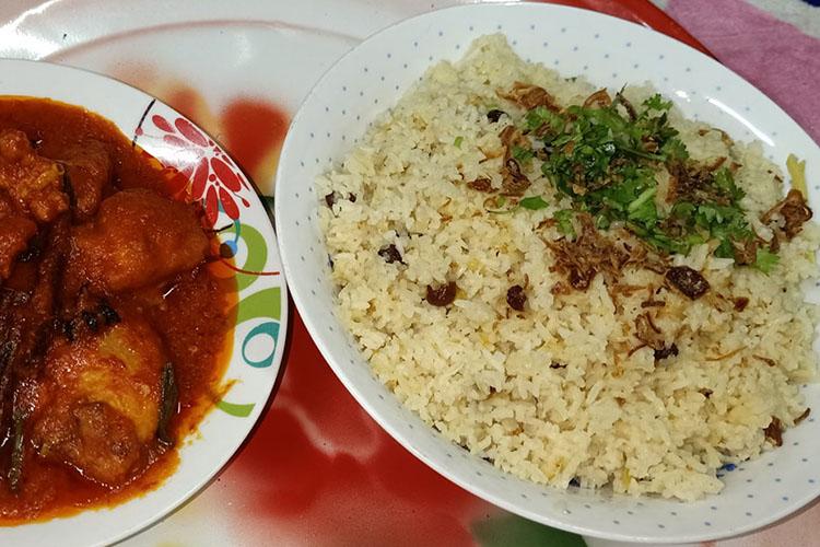 inilah resepi dan cara memasak nasi minyak mudah, simple dan sedap