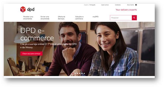 DPD lança plataforma de criação de lojas online