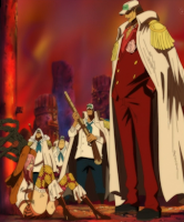 One Piece Akainu catch Blackbeard
