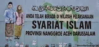 Syariat Islam Di Aceh Dalam Sistem Hukum Nasional